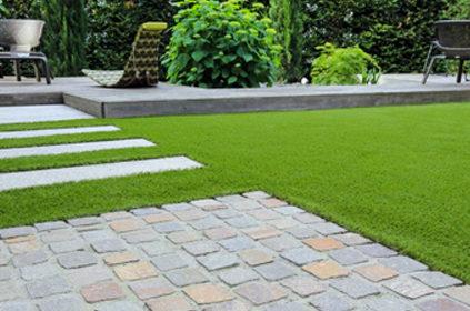 Conception de jardins et d'allée de jardin moderne : de Boislaville - aménagement paysager