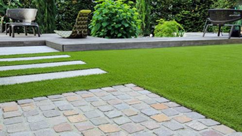 Conception de jardins et d'allée de jardin moderne : de Boislaville