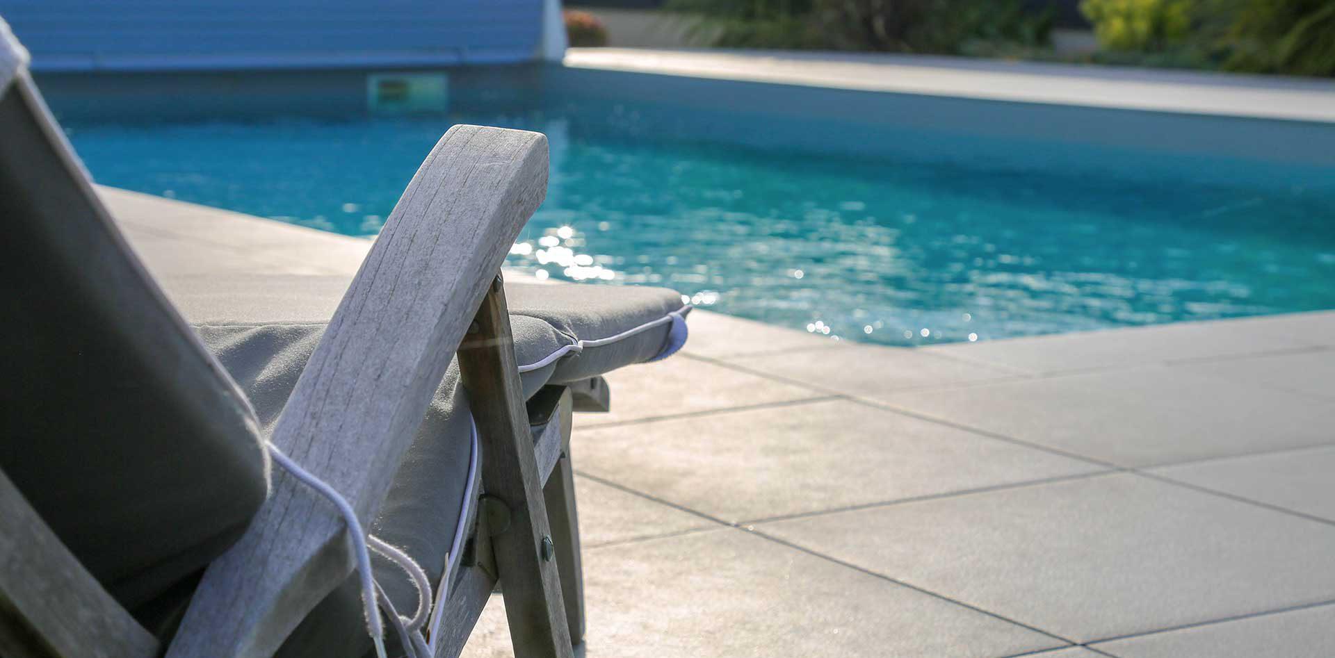 construction de piscine à Angers par de Boislaville : pisciniste paysagiste