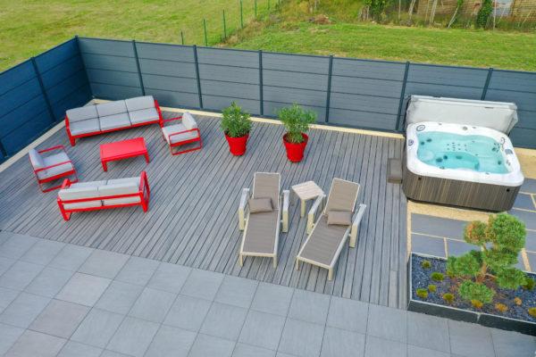 Aménager un coin spa à Angers dans son jardin grâce aux paysagistes de Boislaville
