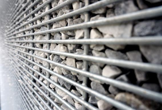 Mur gabion clôture gabion