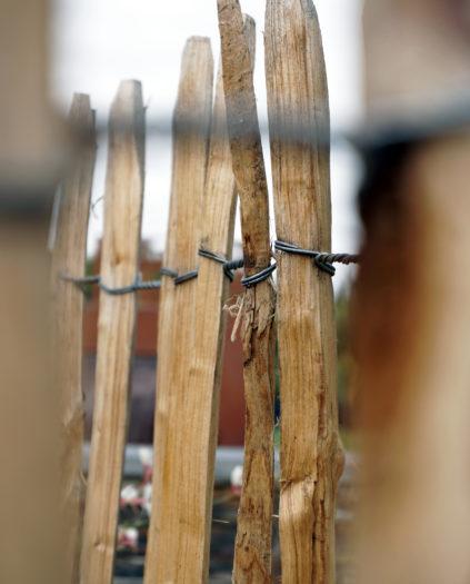 Ganivelle clôture paysagiste 49