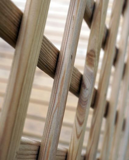 Treillis panneau treillis bois