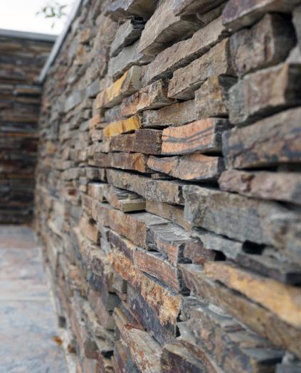 Mur parement pierre