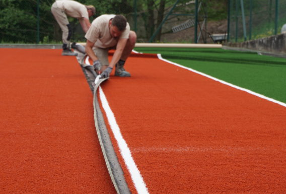 Construction terrain tennis Maine-et-Loire