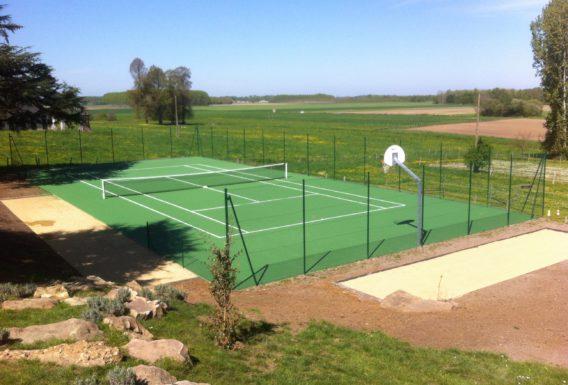 Spécialiste construction terrain de tennis