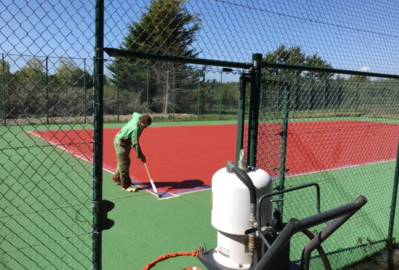 Constructeur terrain de tennis