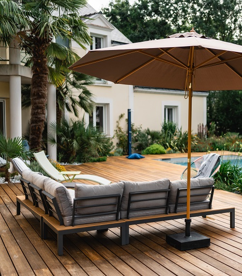 Paysagiste terrasse bois