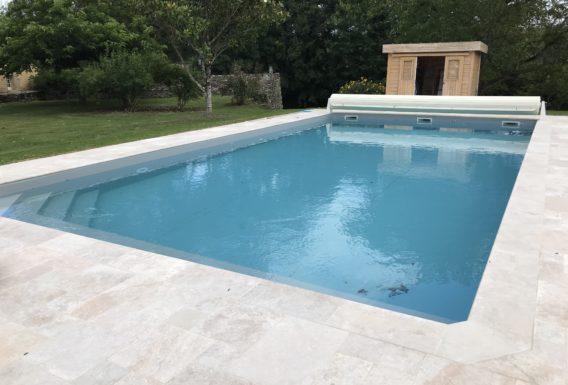 Modification de la structure d'une piscine